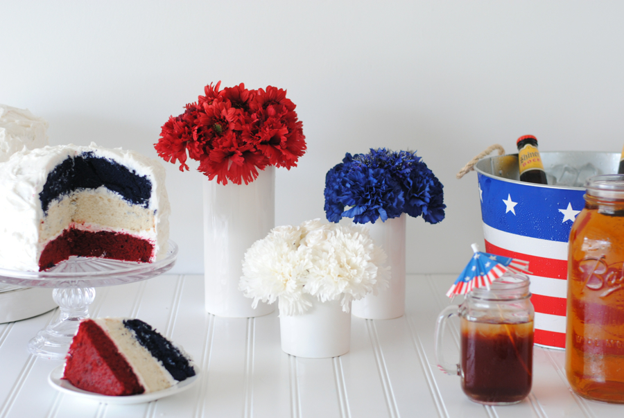 DIY 4th of July Centerpiece