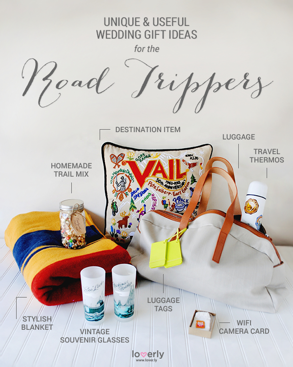 Wedding Gift Ideas Perfect for Road Trippers