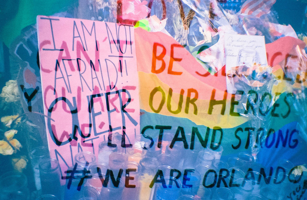 Solidarity with Orlando/Queer Lives Matter, New York, NY, June 2015