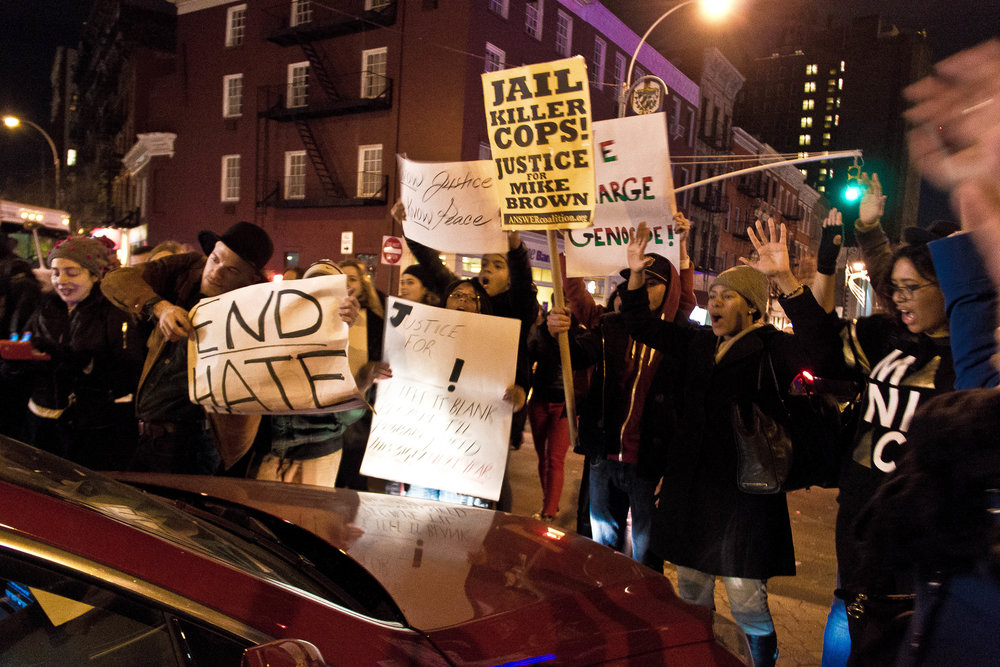 Black Lives Matter, New York, NY, February 2015