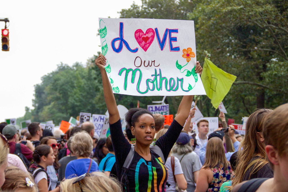 People's Climate March, New York, NY, September, 2014