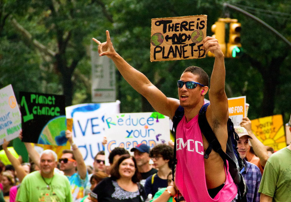 People's Climate March, New York, NY, September 2014