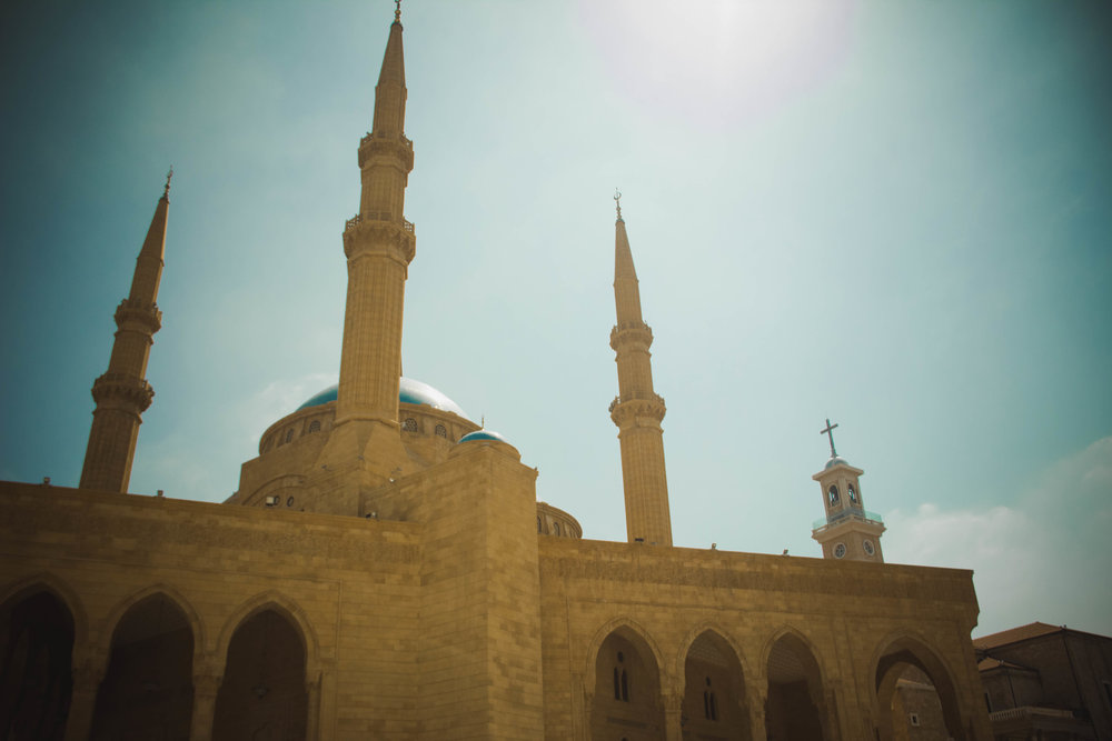 Mohammad Al-Amin Mosque in downtown, Beirut