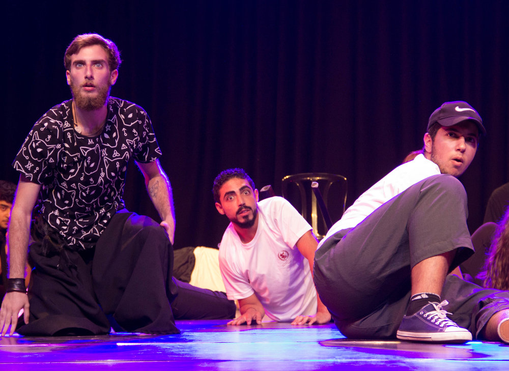 ASHTAR International Youth Theatre Festival at the Ramallah Municipal Theatre