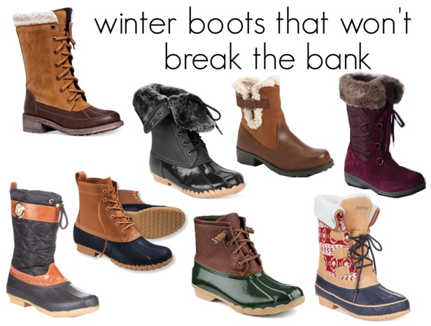 Cute Winter Snow Boots - Cr Boot
