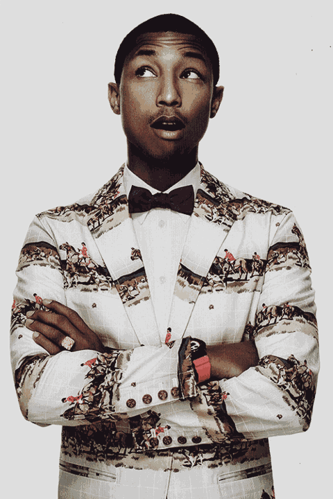 Pharrell Williams    Shop at etsy.com/shop/dualcitizenshop