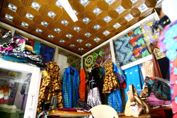 Shop at Lekki Market in Lagos, Nigeria