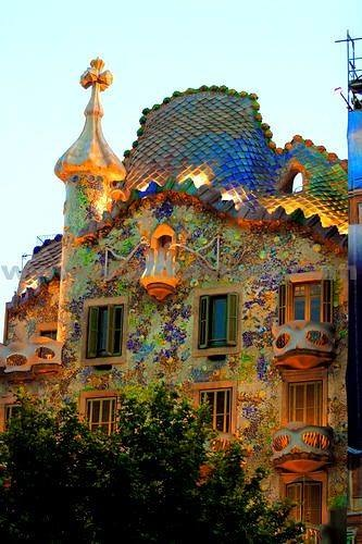 creativetravelspot :     Gaudí Casa Batlló. Original & full of imagination. #lovebarcelona #barcelona