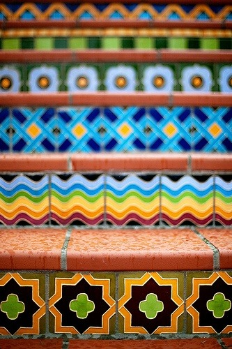 World inspiration.   Shop at etsy.com/shop/dualcitizenshop.com    Source:Moroccan Stairs found on Flickr.com_PJ Taylor