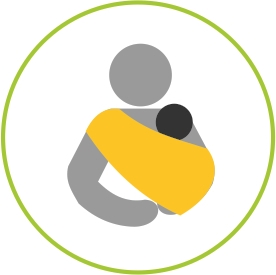 Copy of Promotes Kangaroo Mother Care