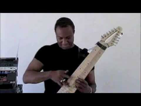 the megatar 10 String Bass frankenstein ricky wade shows us all how it s done on his midi equipped megatar 12 string