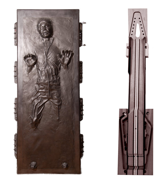 han in carbonite with megatar