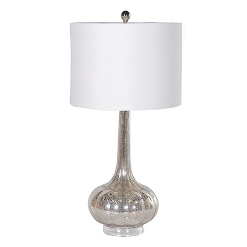 """MERCURY"" GLASS TBLE LAMP"