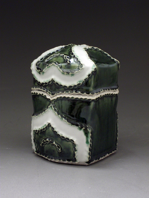 Green and White Box