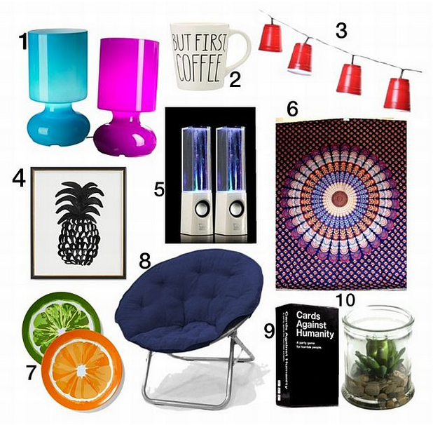 Super Cool And Modern Lamps Available At Ikea For $15. In A Bland Dorm Room.  10 Must Haves ... Part 70