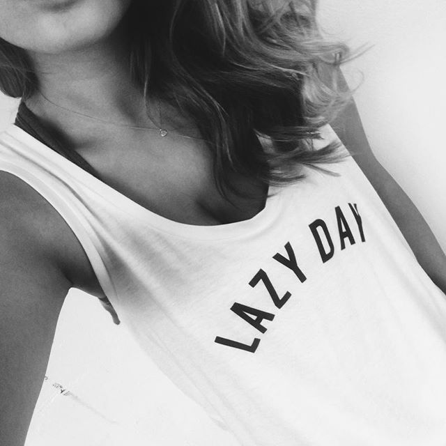 Nothing better than strutting your personal daily mantra around on a cotton tee. #happyfriday