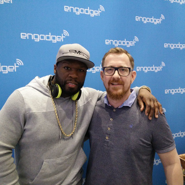 Photo by @engadget. No celebrity endorsement by @50cent implied, mainly because he hasn't seen #Cube yet. We're working on that.