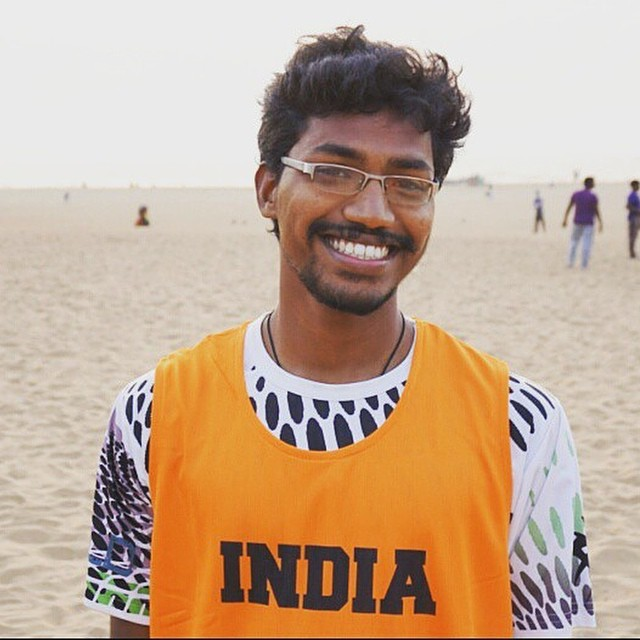 U23 Team India's Team Captain  #ultimatefrisbee #realinstagramers