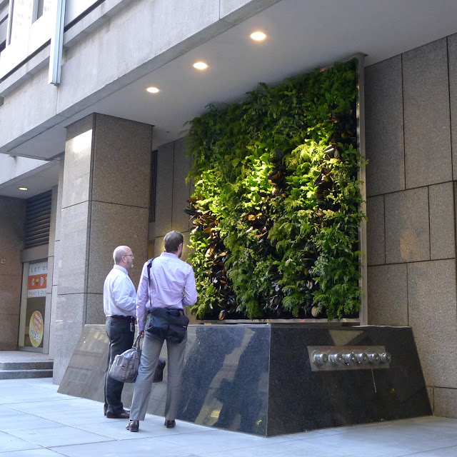 Chris Bribach, Plants On Walls. CBRE Tower San Francisco. Florafelt System.