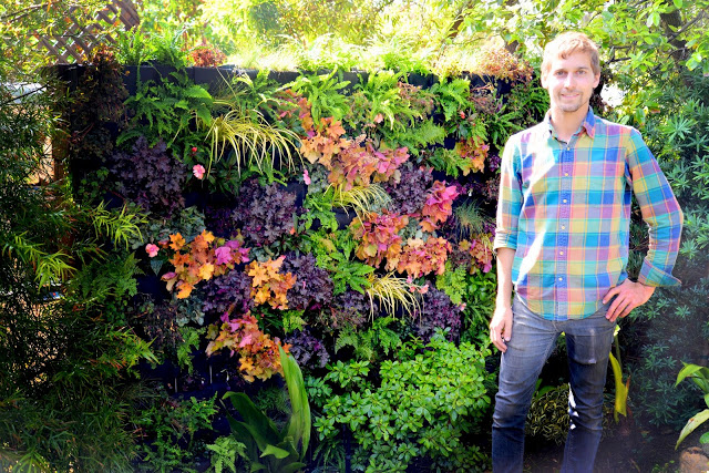 Brandon Pruett, Living Green Design, Florafelt System