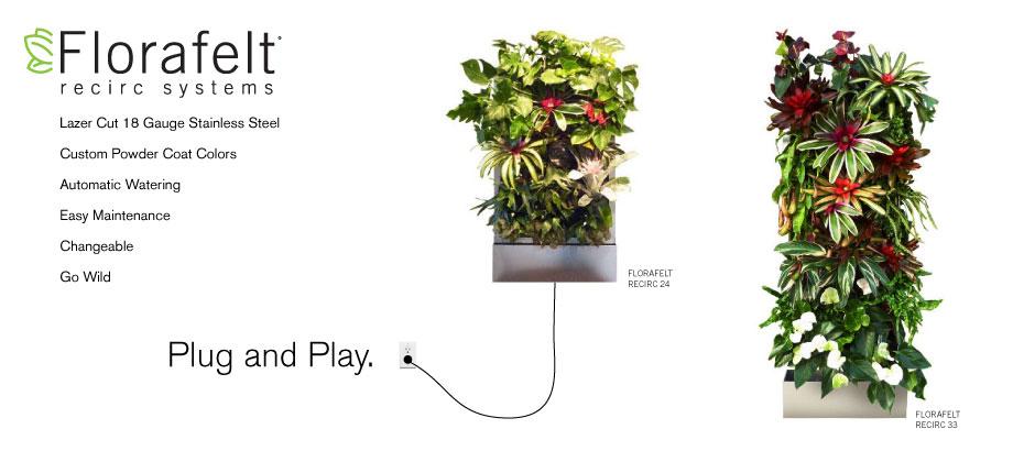 Beau Florafelt Recirc 33 Free Standing Vertical Gardens By Anita Bohrnerud
