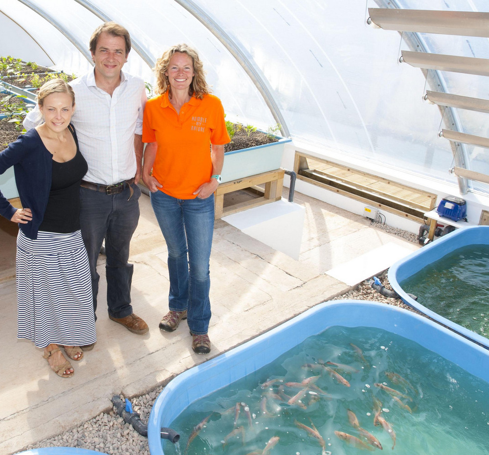 Kate Humble and Aquaponics UK, Humble By Nature