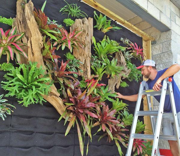 Seth Stottlemyer, Oasis Gardenscapes, Florafelt Vertical Garden Planters