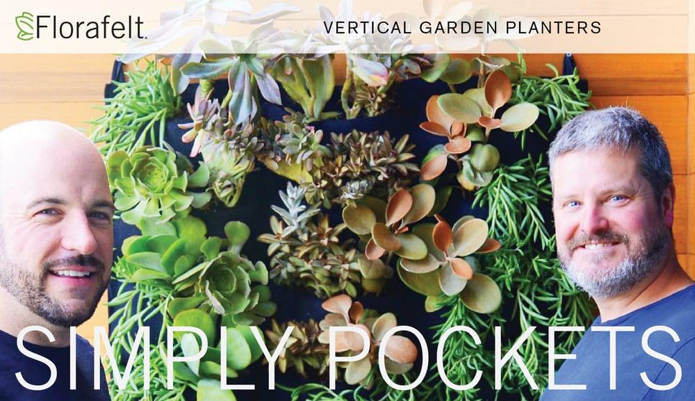 Florafelt Vertical Garden Planters Simply Pockets