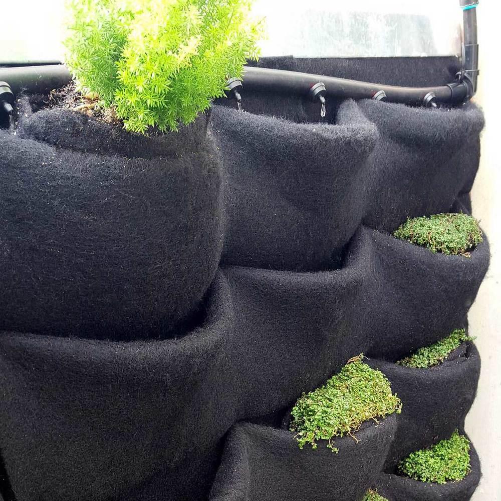 Florafelt Vertical Garden Drip Irrigation