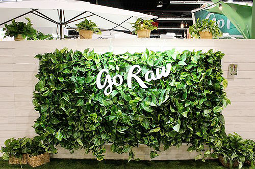 Florafelt Pockets Vertical Garden for Go Raw by Amanda Goldberg Planted Design.