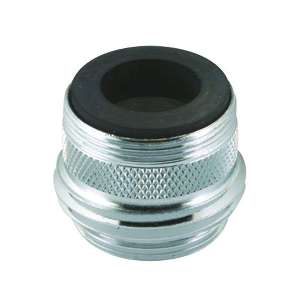 DUAL THREADED GARDEN HOSE ADAPTER FAUCET AERATOR