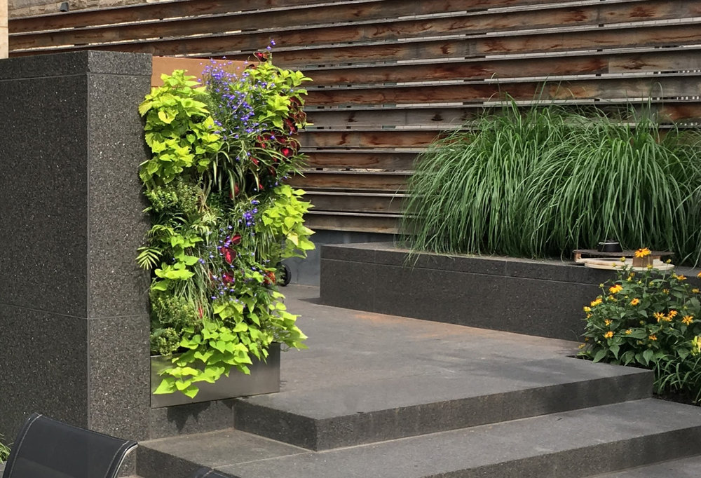 Florafelt Recirc Vertical Garden by Rik Dekker Construction, Toronto, Canada