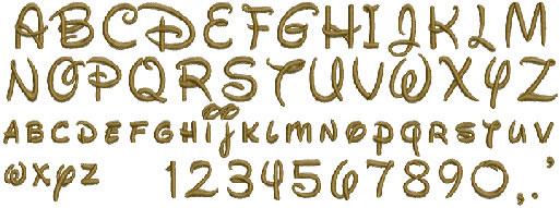 Fonts Monogramperfect
