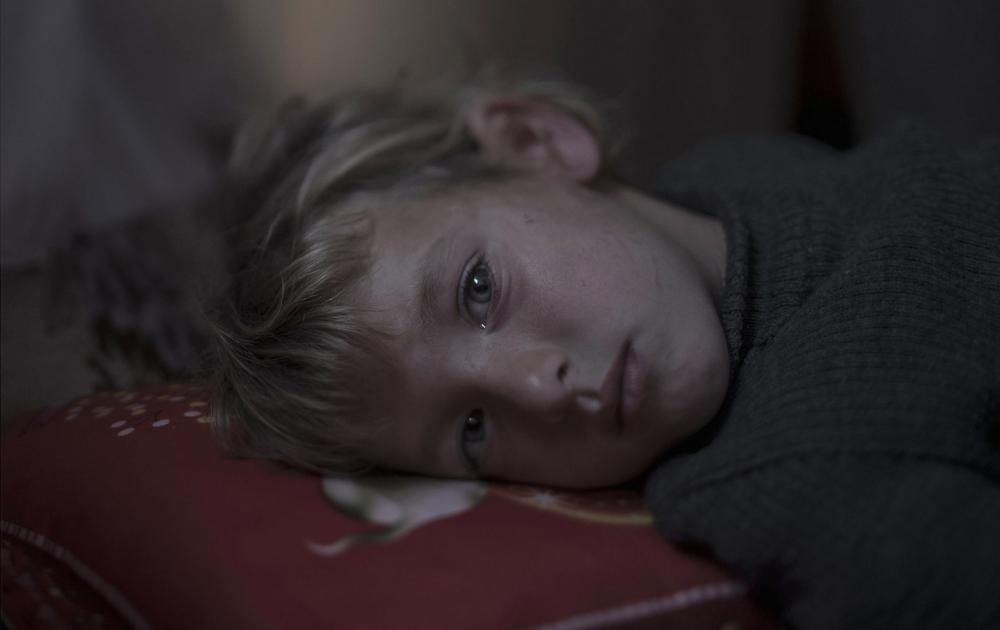 Magnus Wennman - Walaa, 5, in Dar-El-Ias, Lebanon
