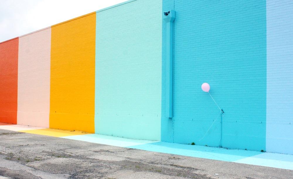 Sugar&Cloth Color Wall - yomarianablog