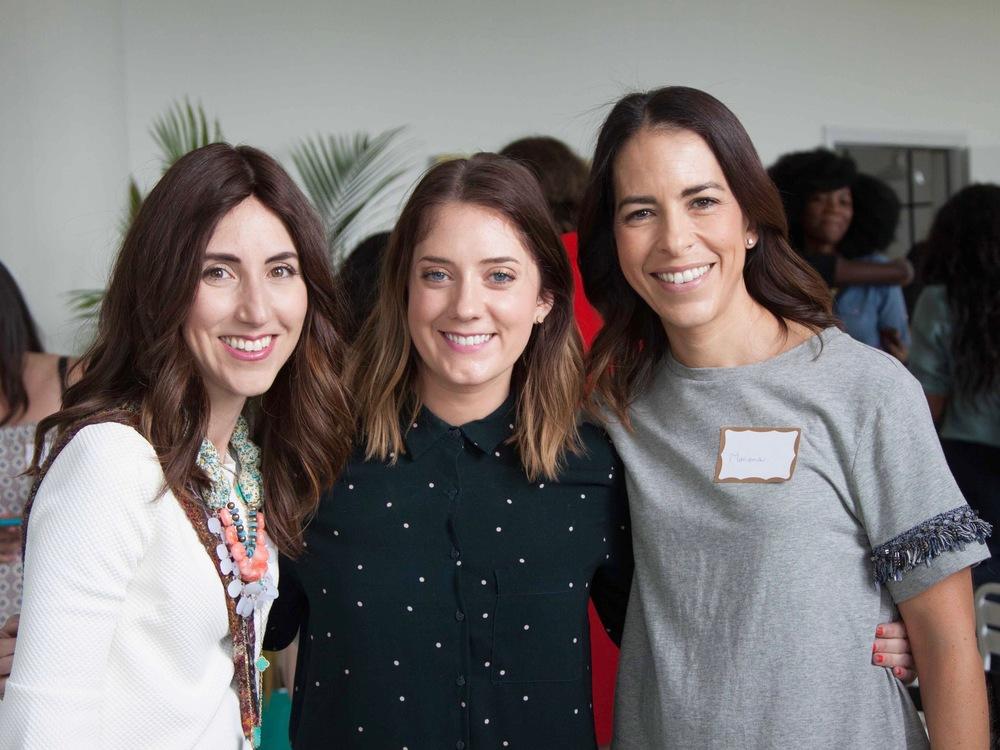 Yael Trusch @jewishlatinprincess, Ashley Rose @sugar&cloth, Mariana Cano @yomarianablog - Photo by Nicole Kestenbaum @lipstickandbrunch
