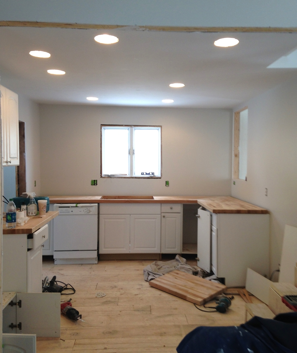 And this is where we are at with the kitchennow.