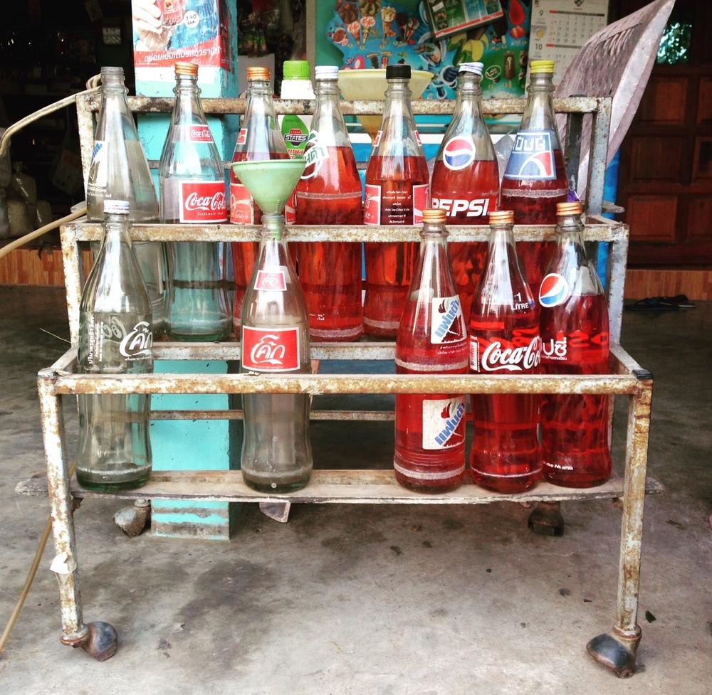 Drinking Coke is like drinking oil.