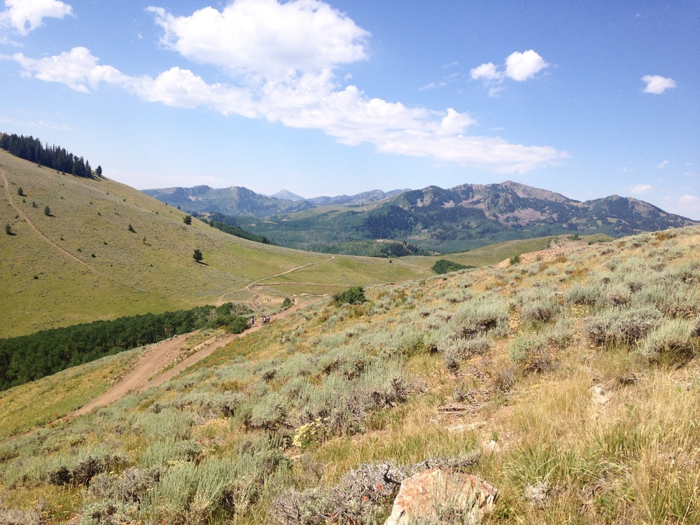 7/29/16 Exploring the Wasatch mountain range in Park City, Utah during a wedding visit in July. Utah is quickly becoming a favorite state of mine after checking out Arches National Park + Zion National Park last spring. I'm planning a road trip with my Sister and her two young kids this October to visit our brother in Yosemite. Any recommendations for the way out? Hiking, camping, eating, oddities?