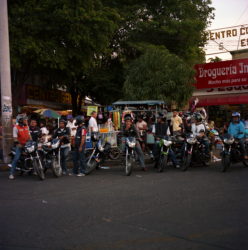 Bikers On The Corner