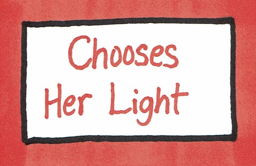 Chooses her light.jpg
