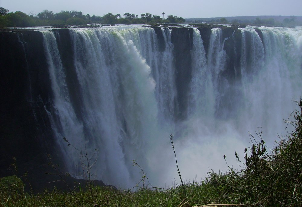 Victoria Falls, public domain image courtesy  Wikimedia Commons
