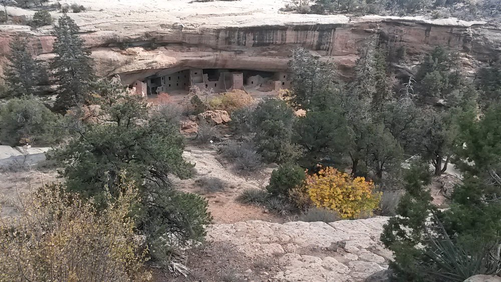 Juniper House from the overlook.