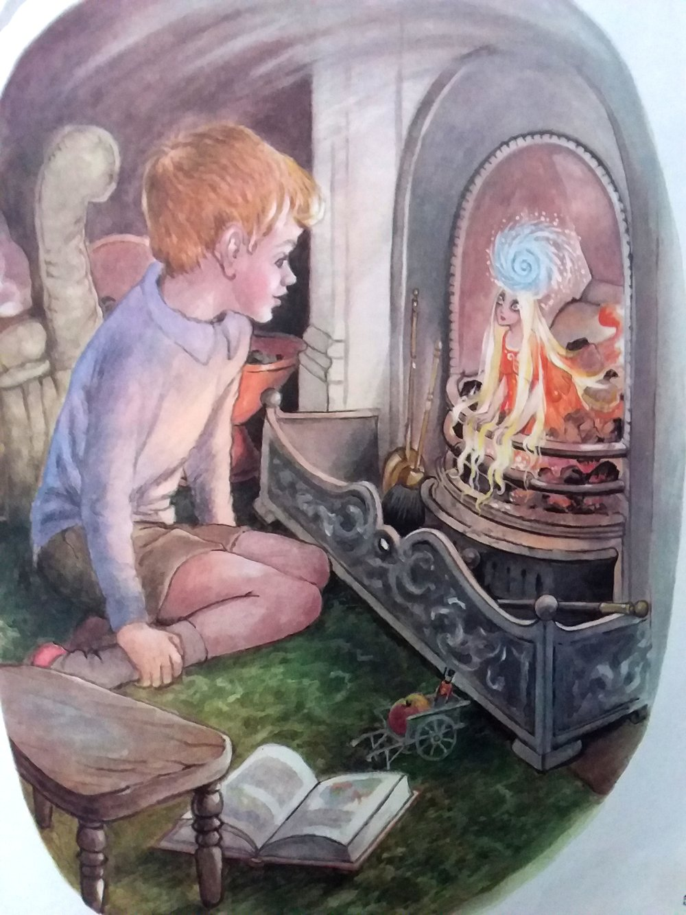 Illustration from  Hilda Boswell's Treasury of Children's Stories.