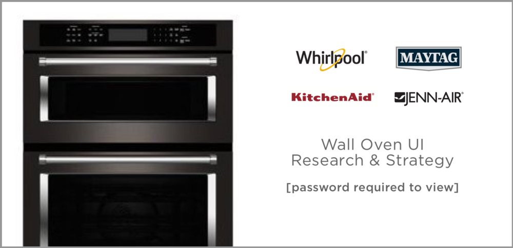 KitchenAid Research and Brand Strategy