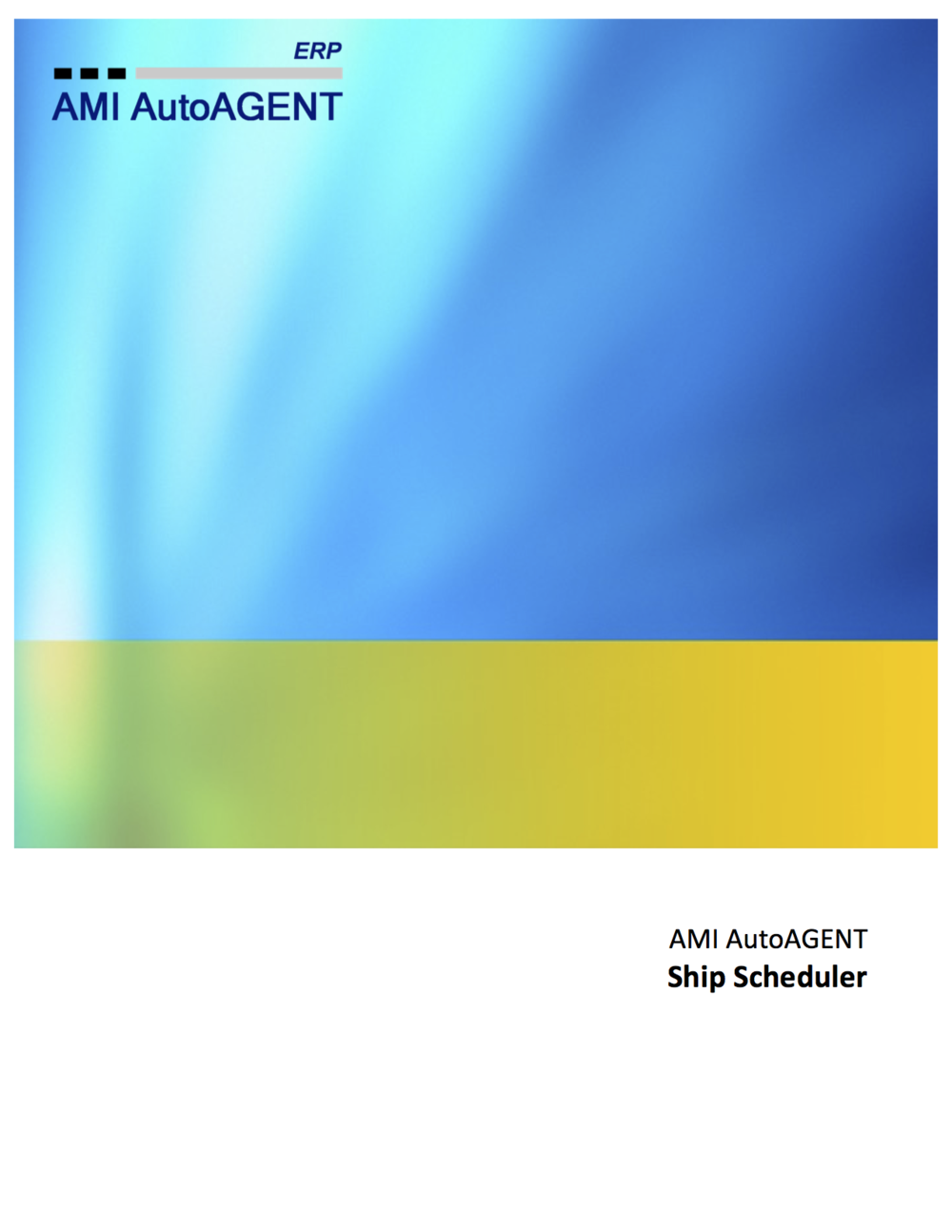 Ship Scheduler