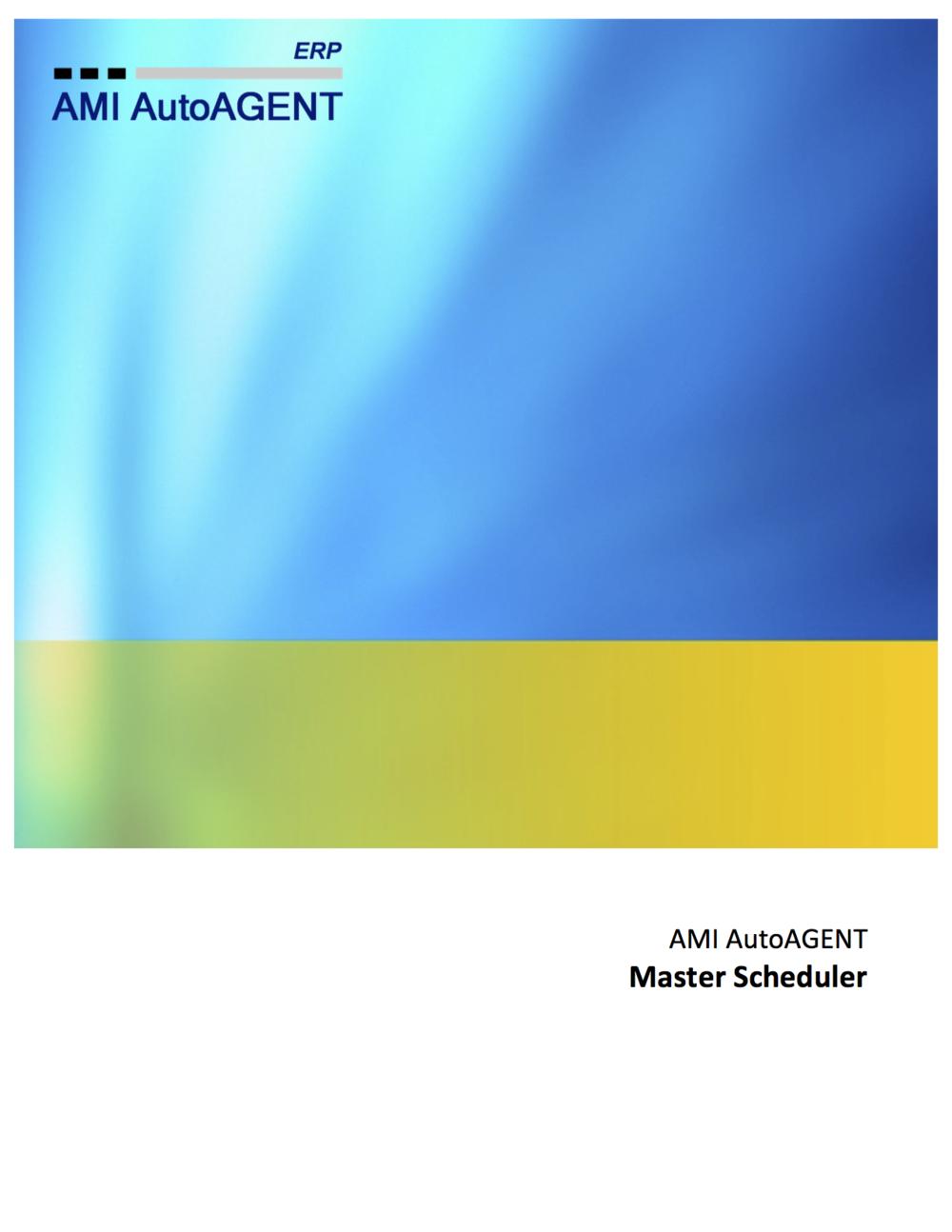 Master Scheduler