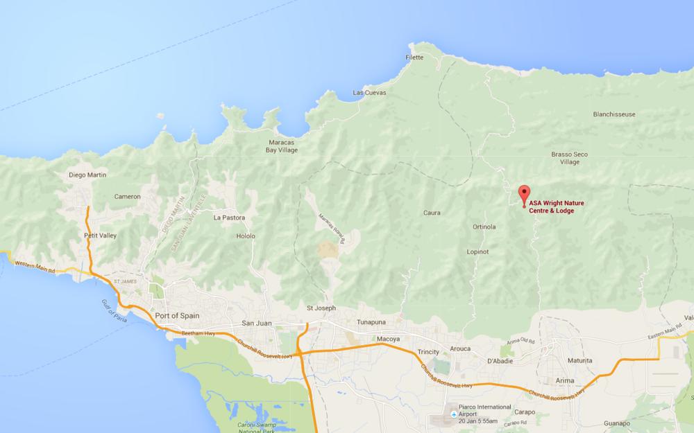 Google Maps - Asa Wright.png