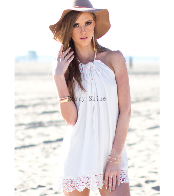 2015-Top-Fashion-Women-Summer-Beach-Shift-Dresses-Fashion-Lady-Casual-White-Hem-Lace-Sleeveless-Halter-1.jpg