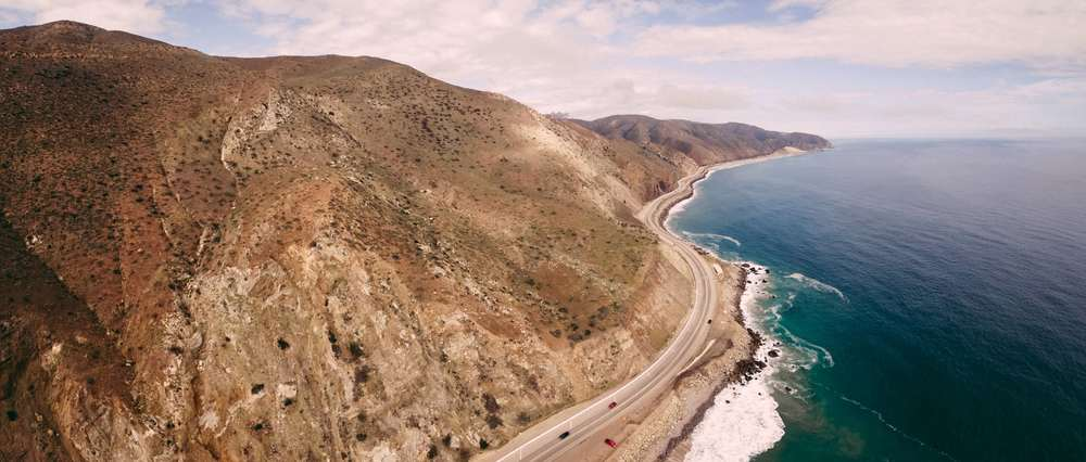 The majestic Pacific Coast Highway